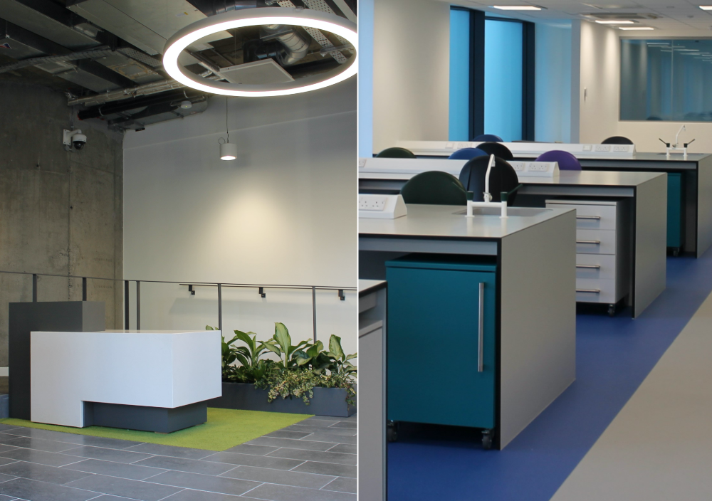 Interior Fit Out - Nuritas Ltd. Office & Laboratory Fit Out.