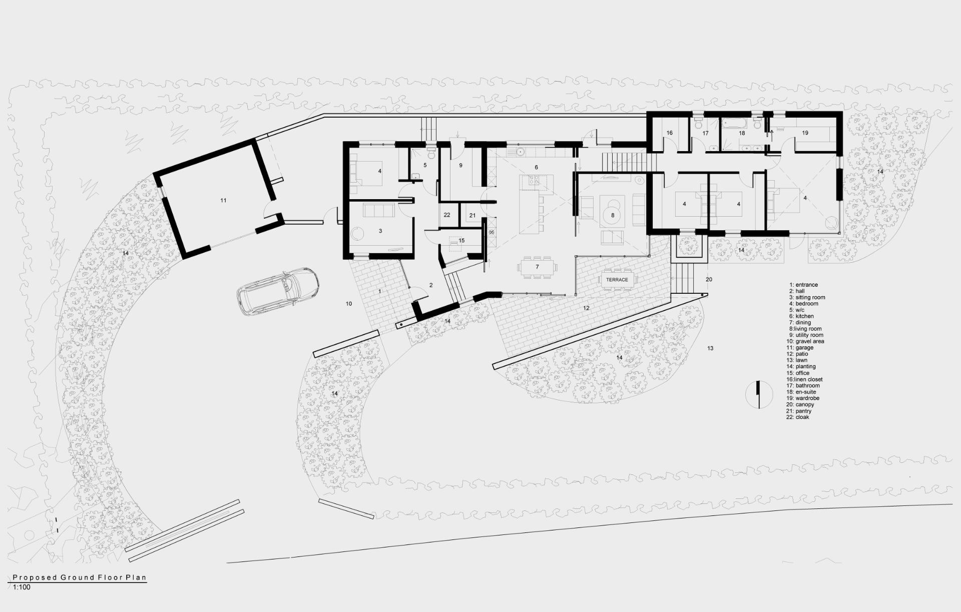 House at The Minaun