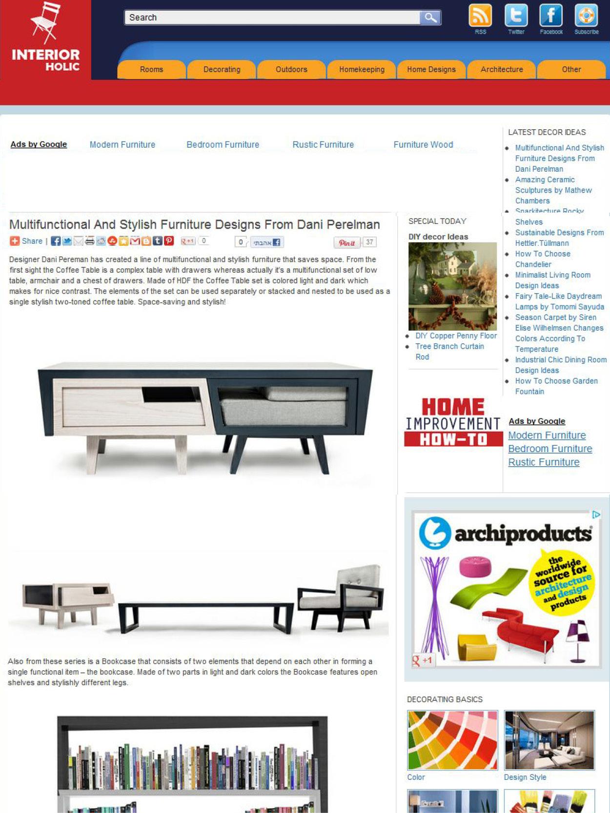 פיתוח ועיצוב מוצרים - דניאל פרלמן