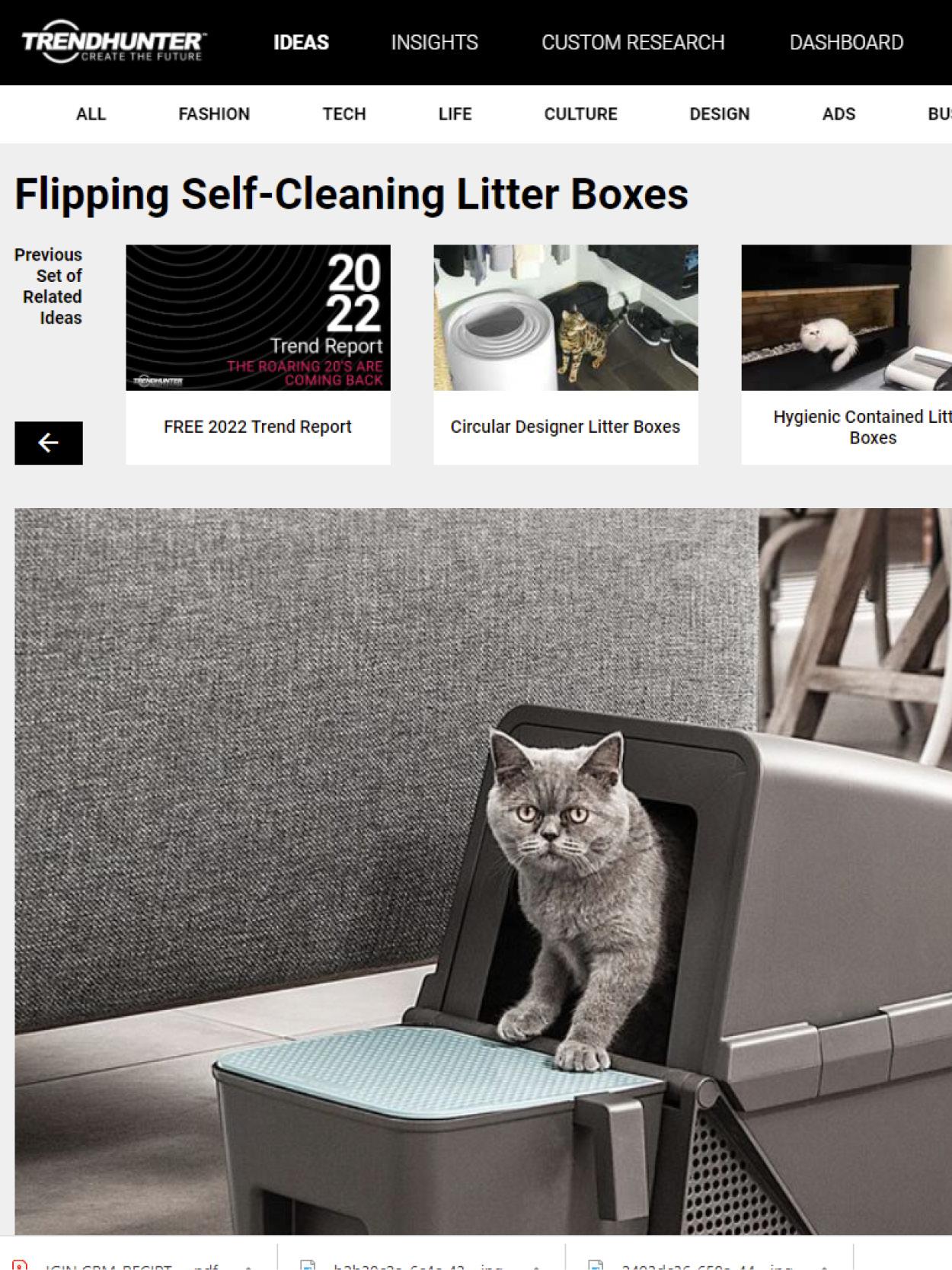 litter box design, Industrial design, product design