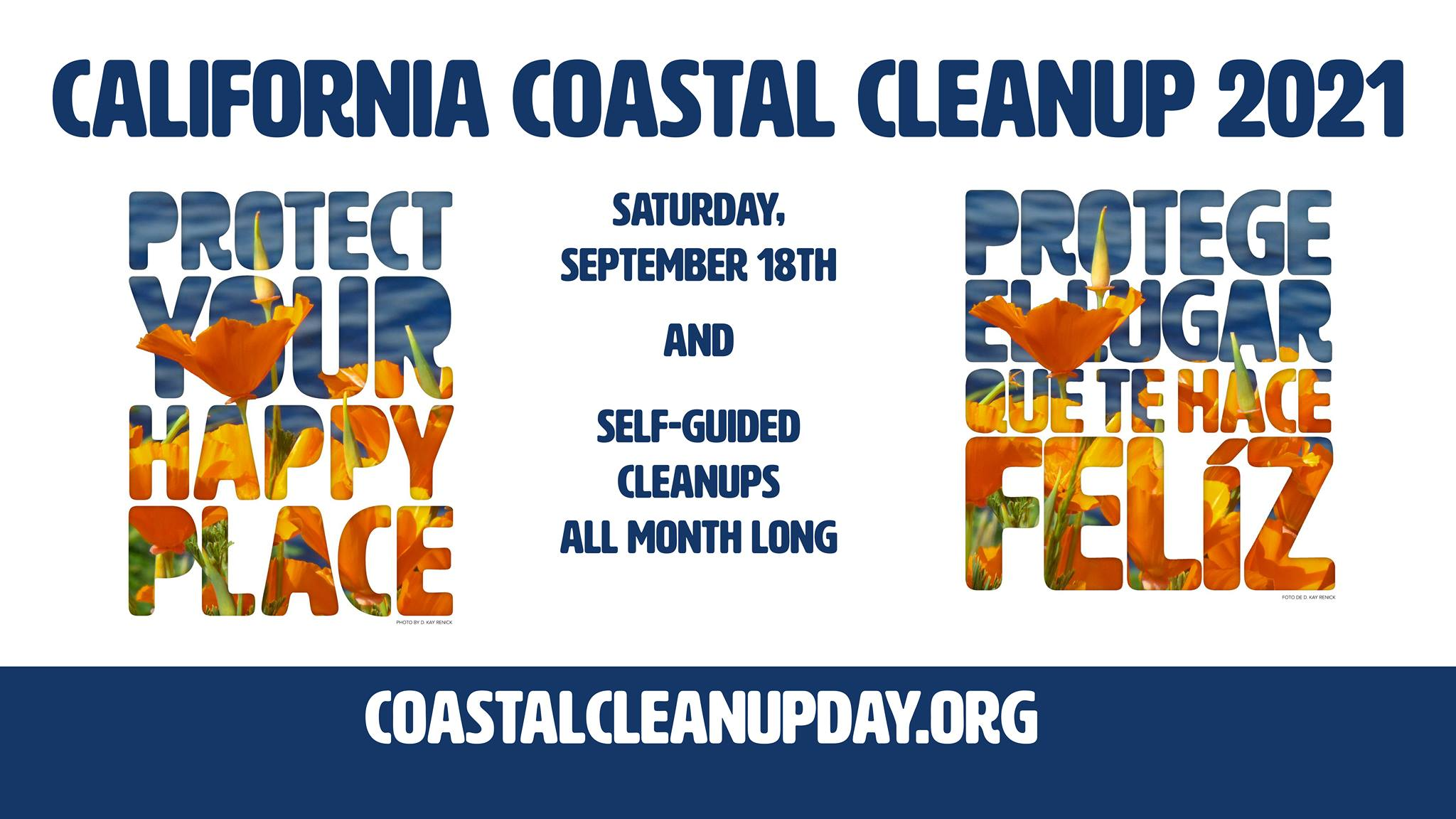 California Coastal Cleanup 2021 banner