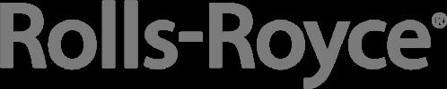 Rolls-royce logo in grey