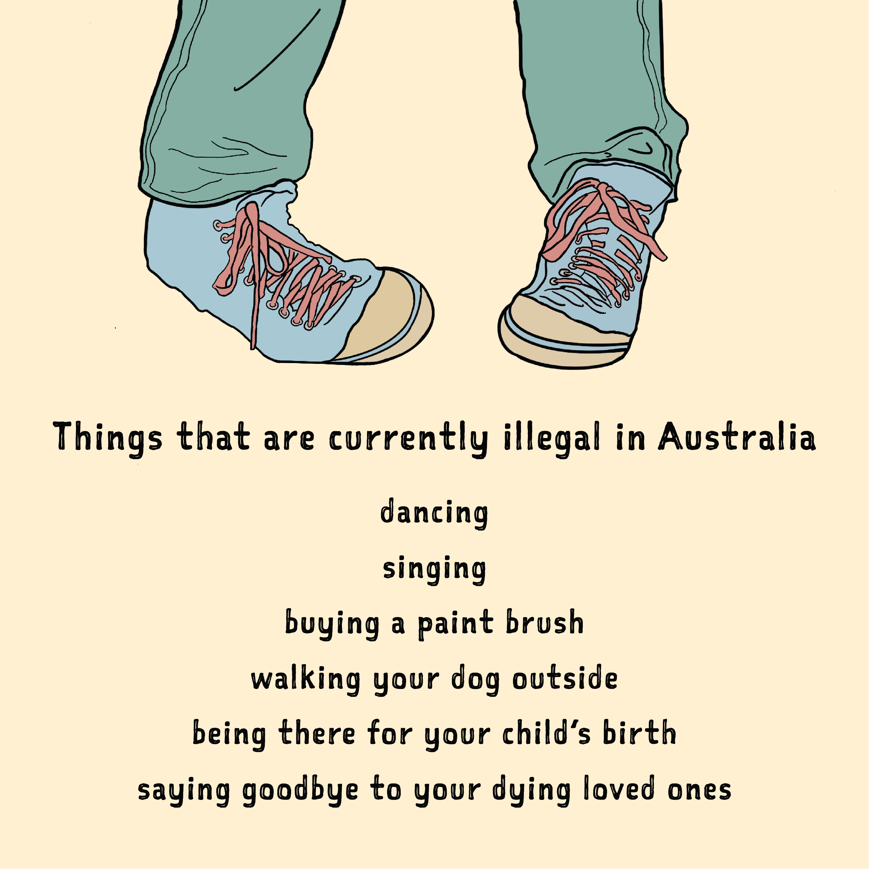 Dancing is Illegal in Australia Right Now
