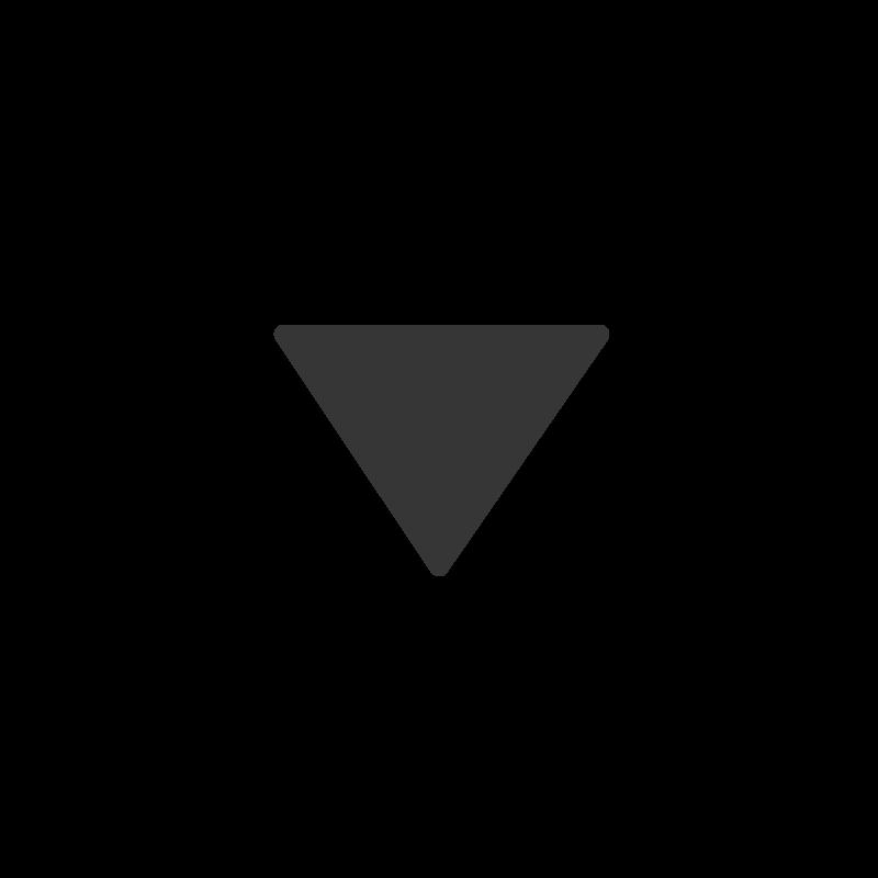 Dark grey drop down menu image icon