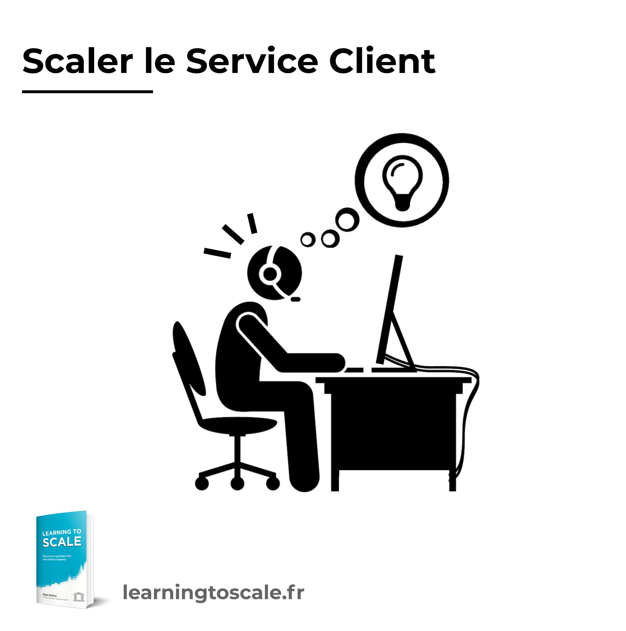 Scaler le service client
