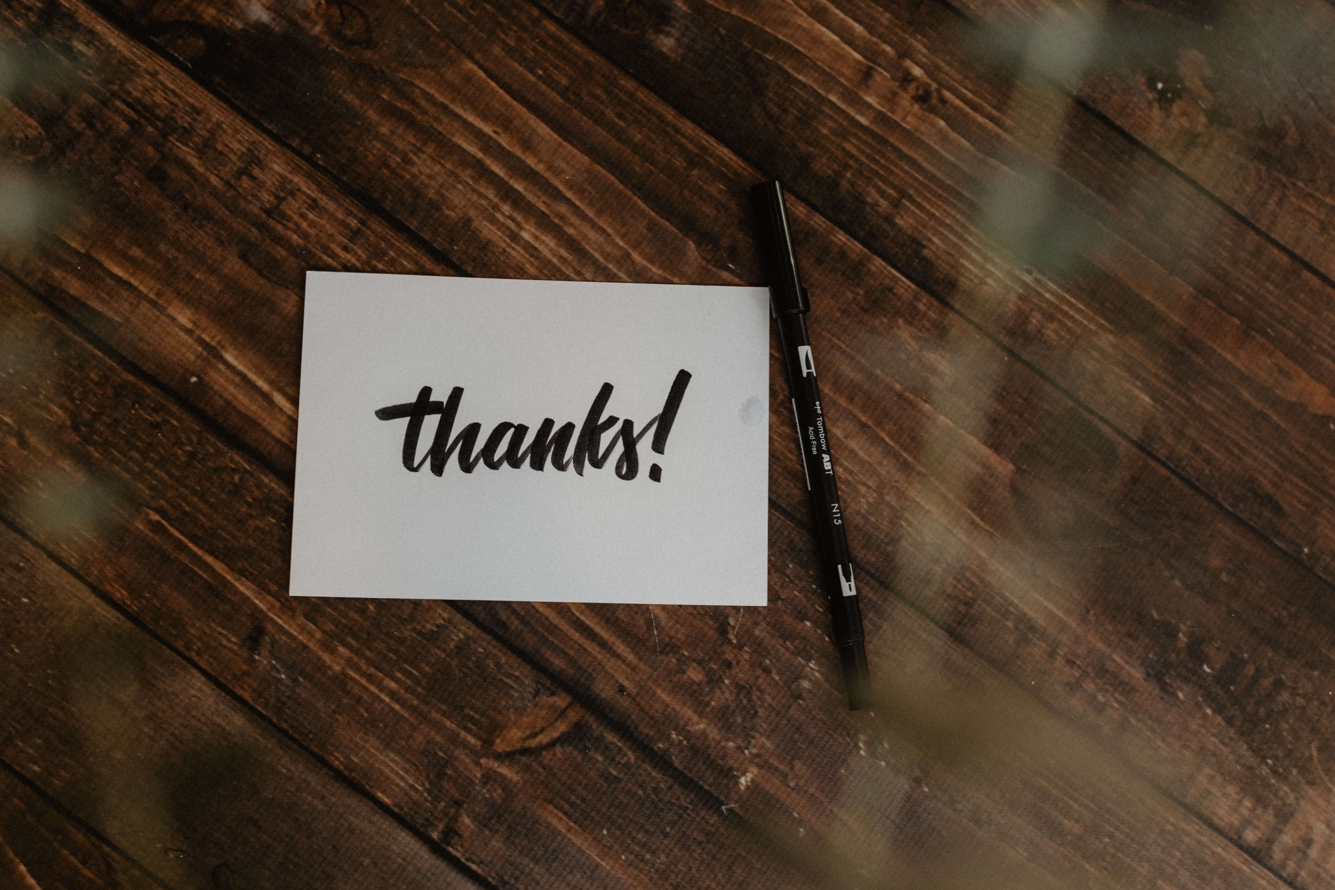 personalized thank you email or Linkedin Message