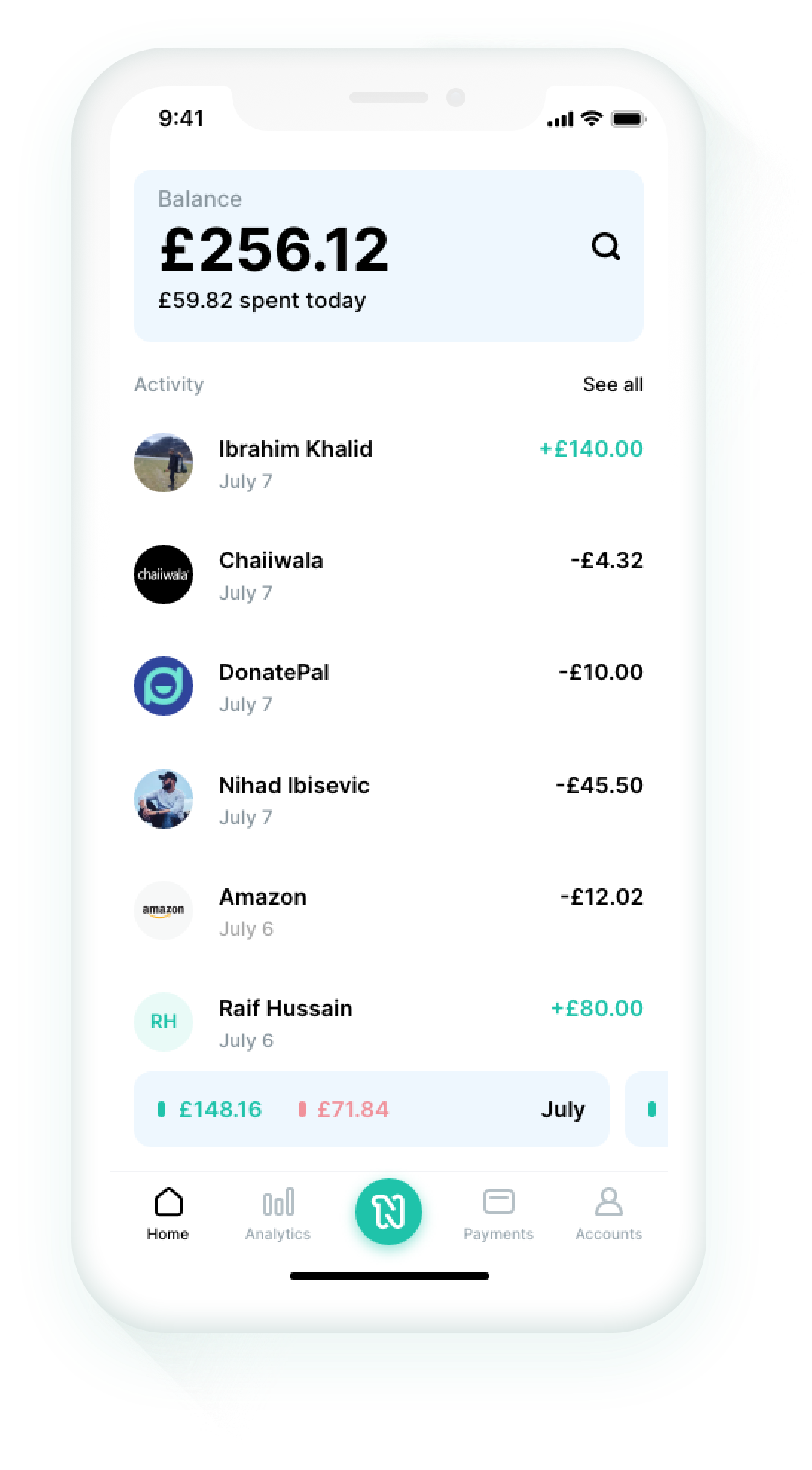 Preview Niyah Dashboard apps