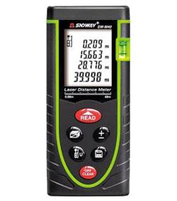 máy đo khoảng cách laser sndway sw-m60