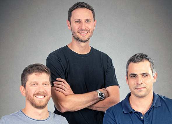 The DoControl founders. Photo: Orly Eyal