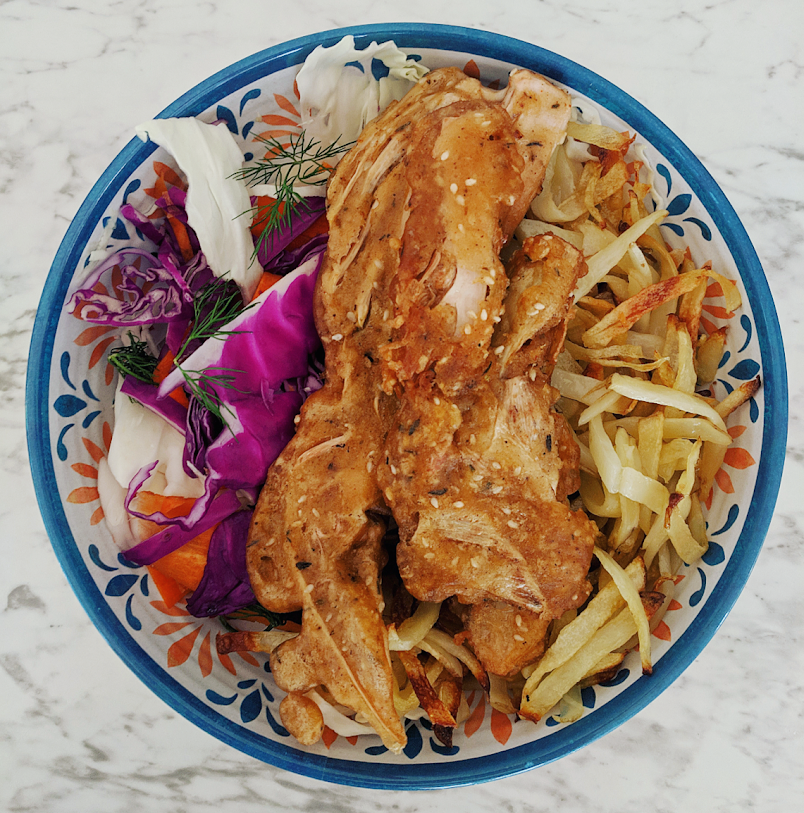Vegan fish recipe