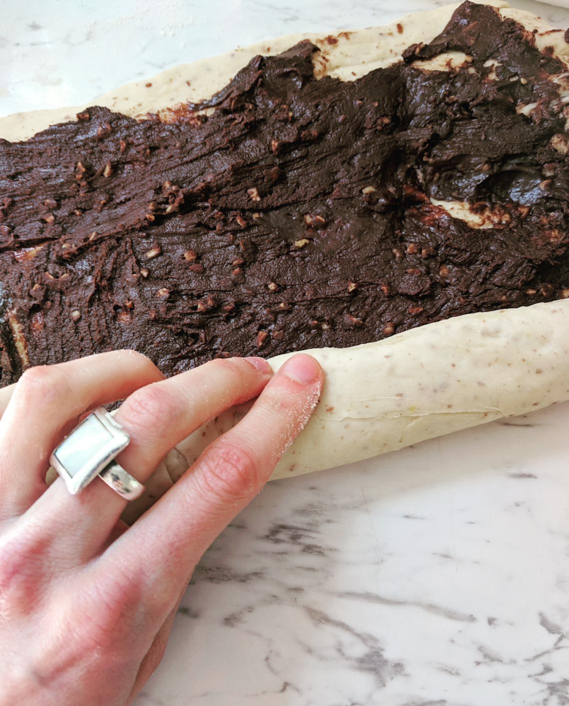 Chocolate Hazelnut Roll