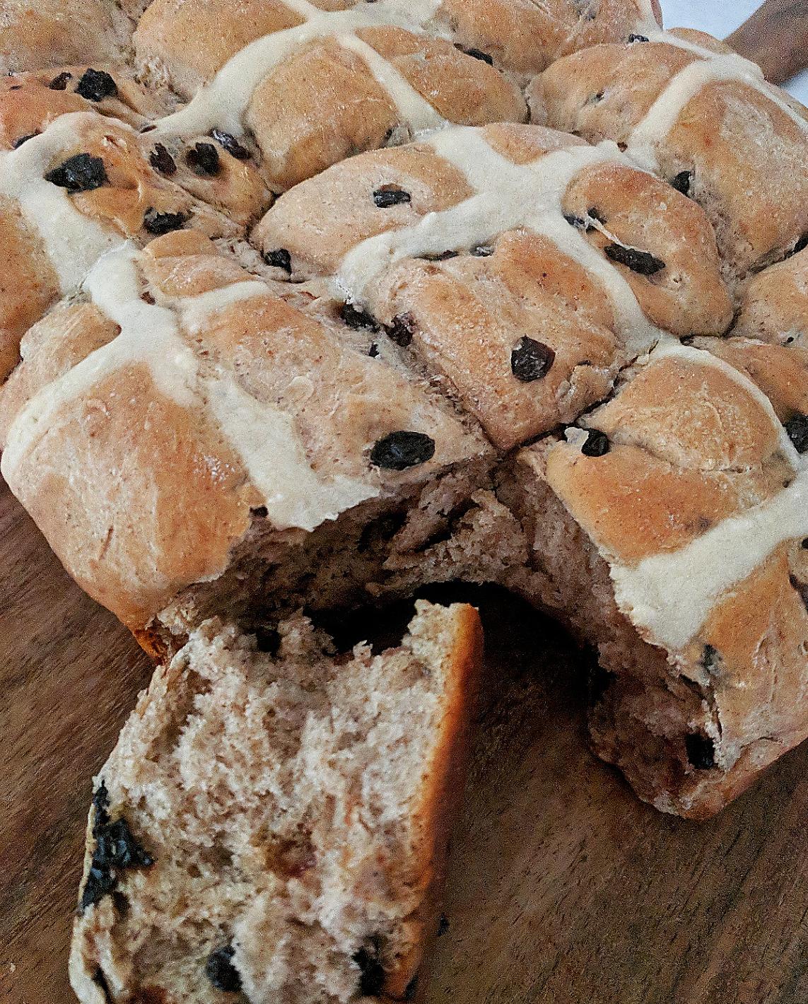 Hot cross buns easy