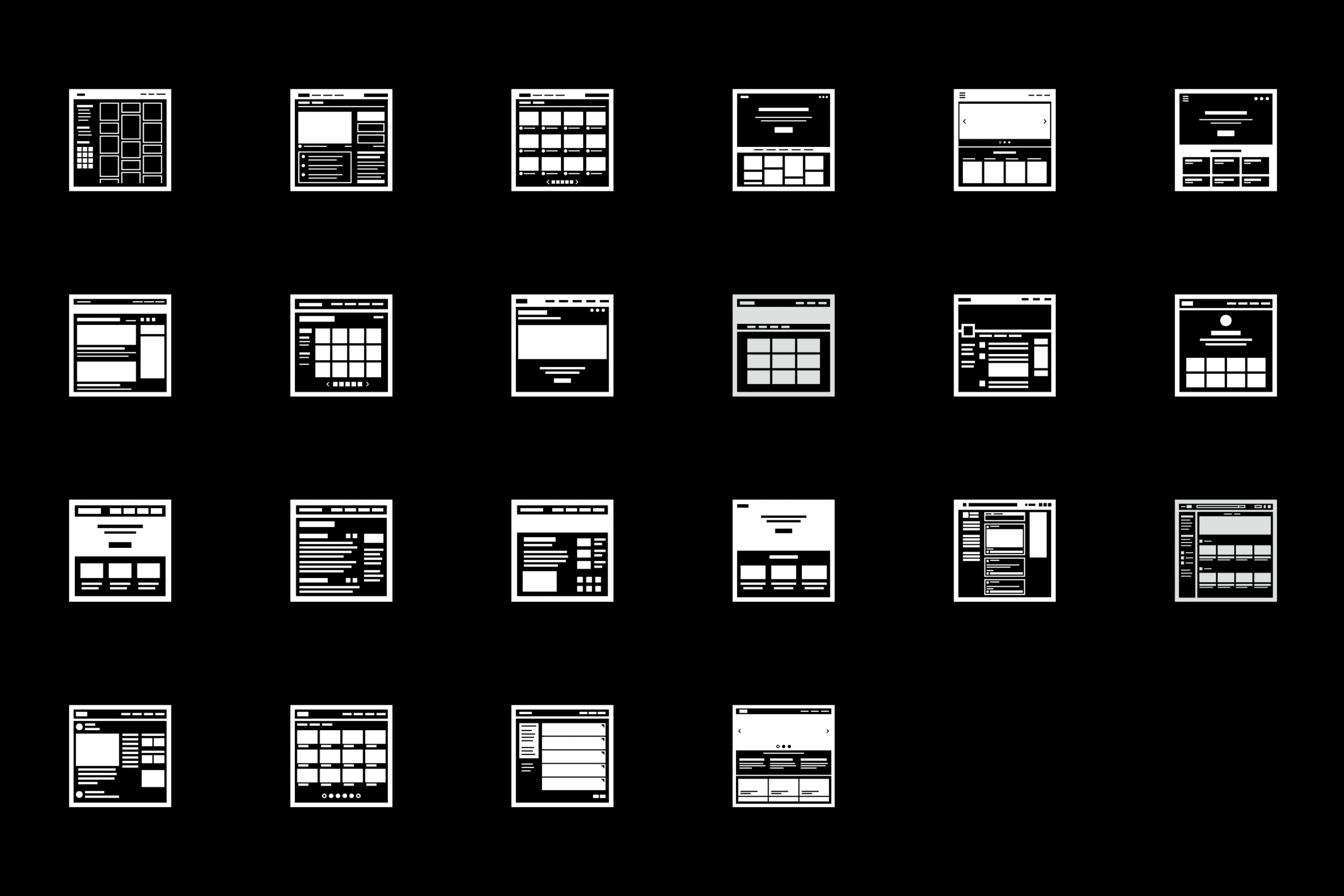 UX icon set designed by Max Miner