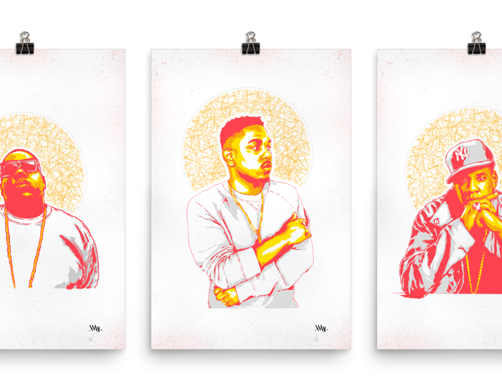 Hip Hop Heroes: Portrait Series
