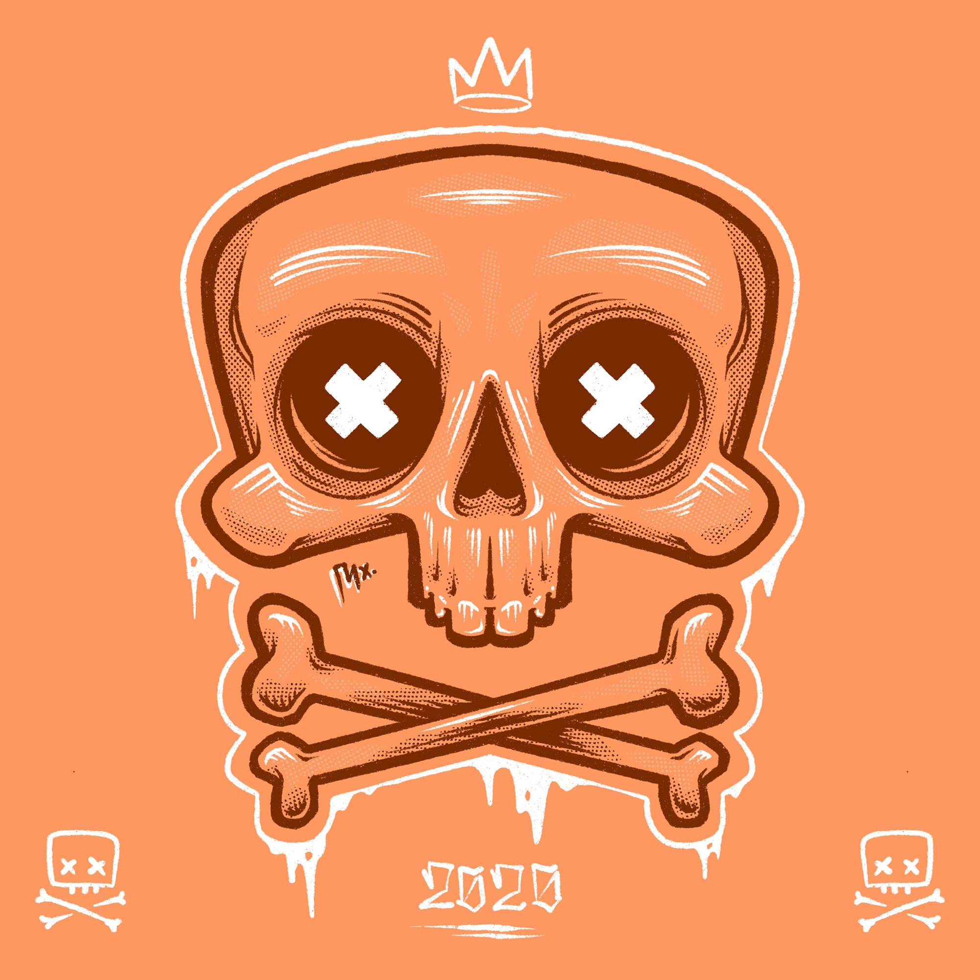 Skull King Illustration