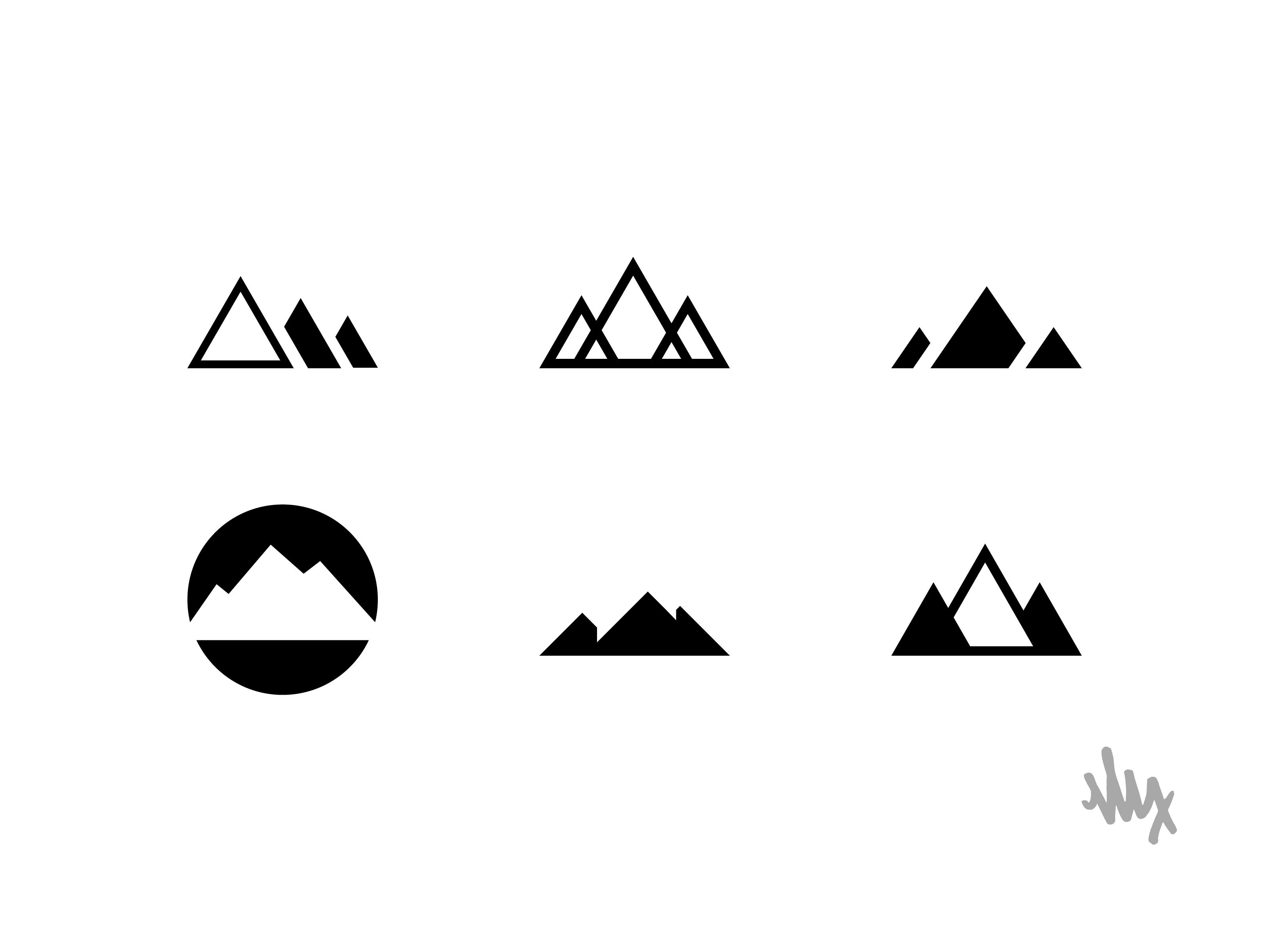 Mountain Logo Series
