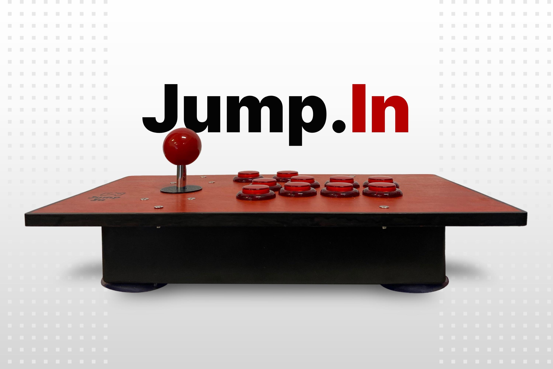 Jump In Mockup