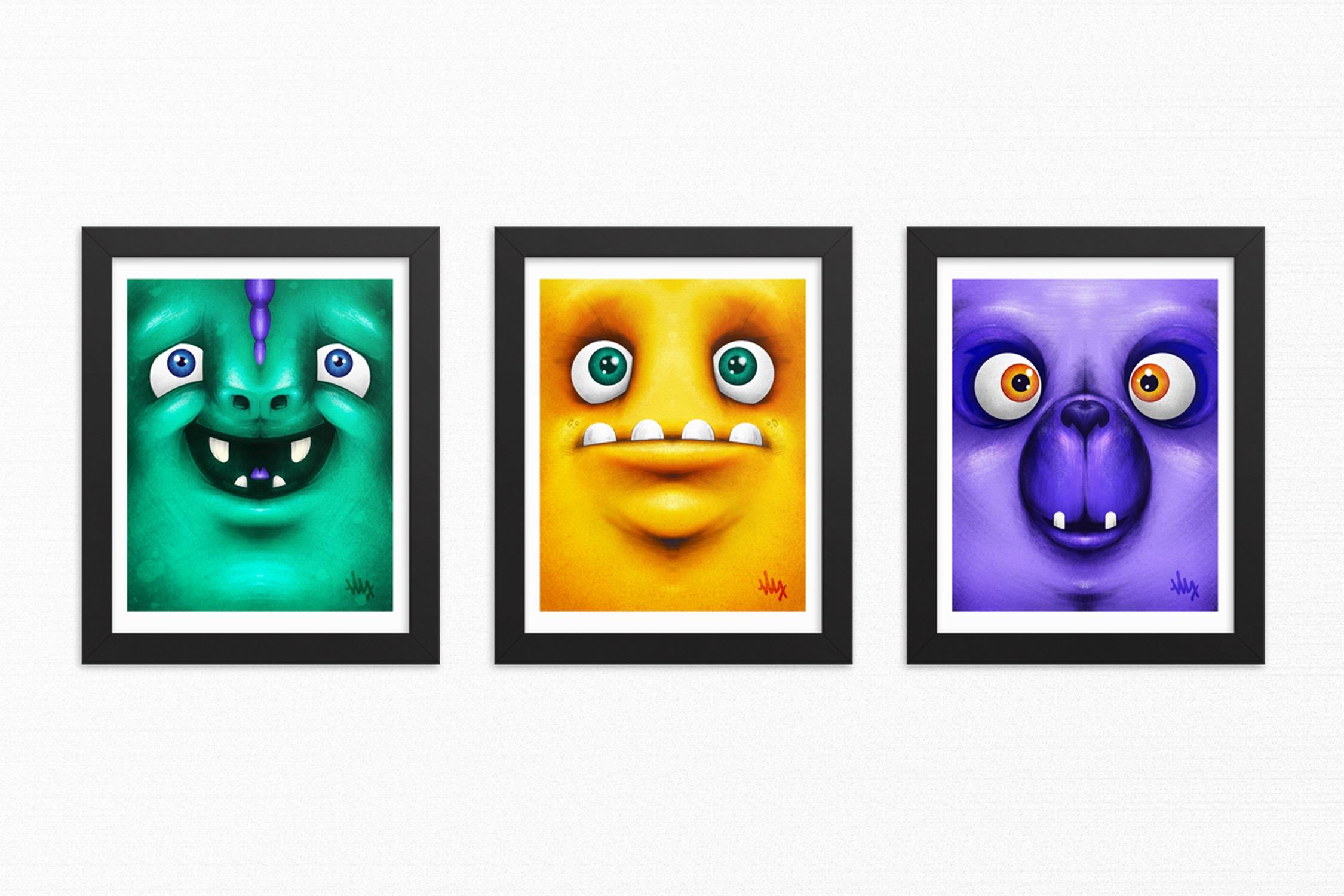 Creatures Illustrations