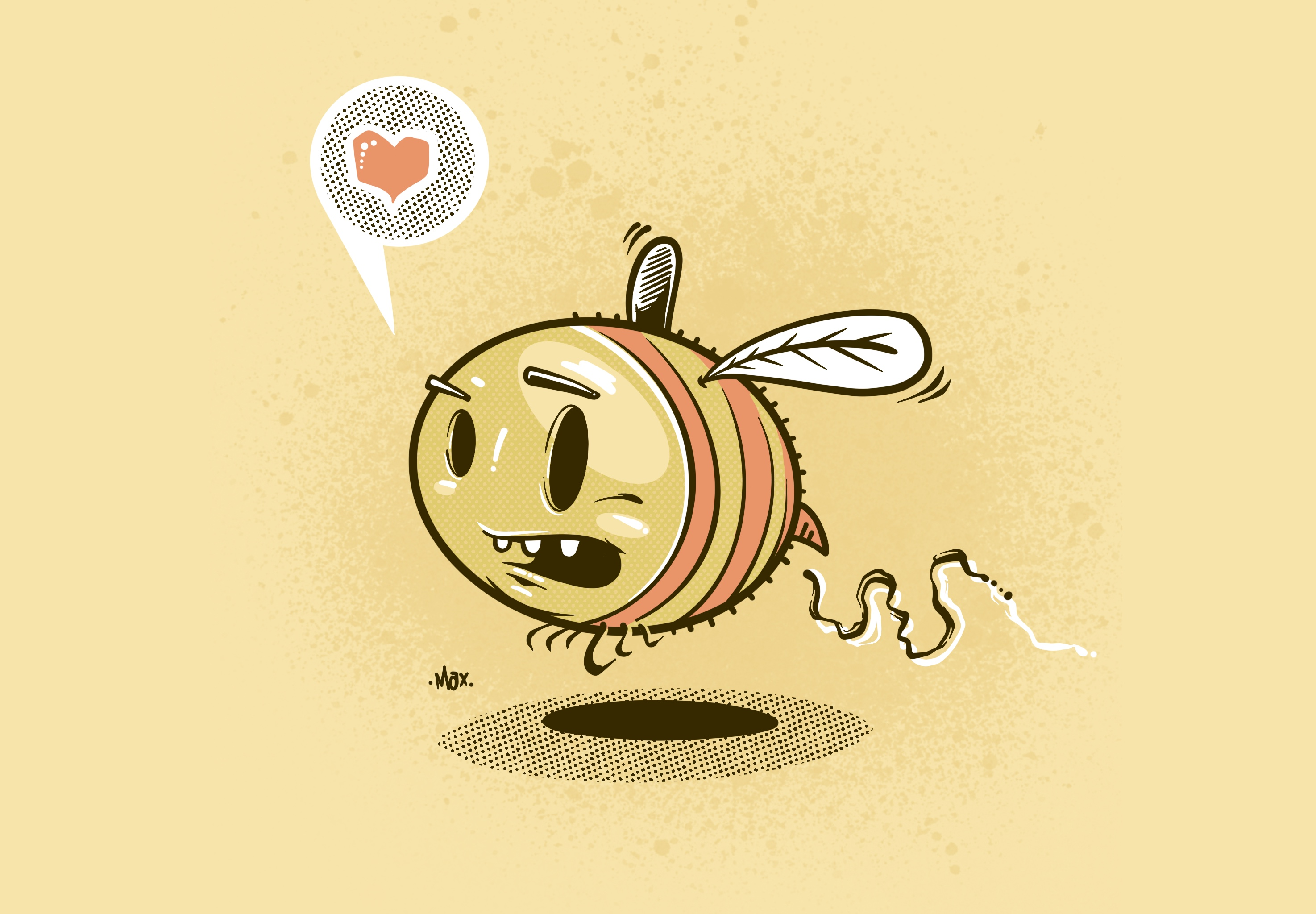 Busy Bee - Illustration