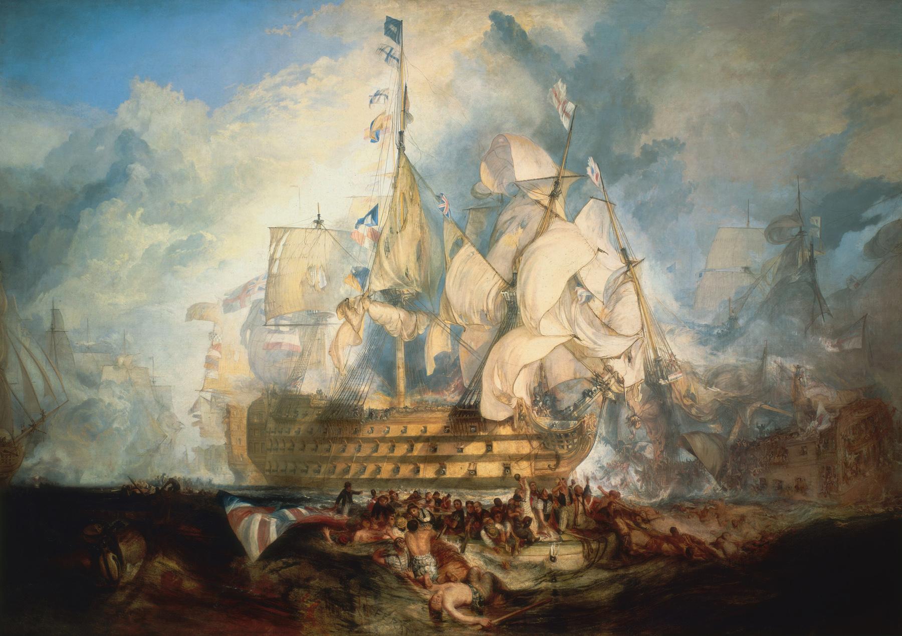 The Battle of Trafalgar by Turnier