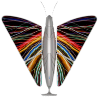 butterfly air filter for big spaces