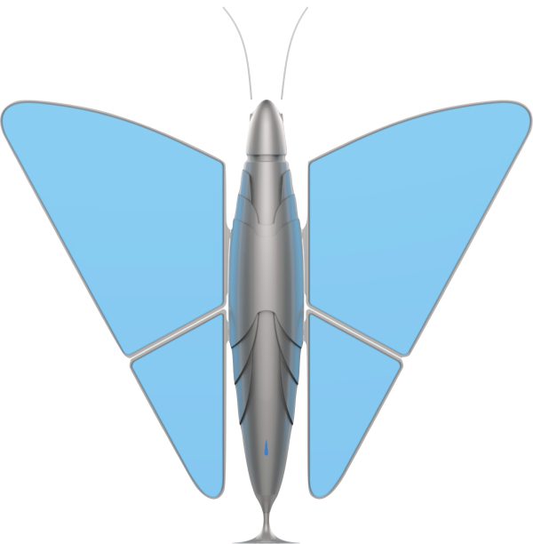 neomorpho butterfly first intelligent butterfly enables you to breathe clean air evrywhere
