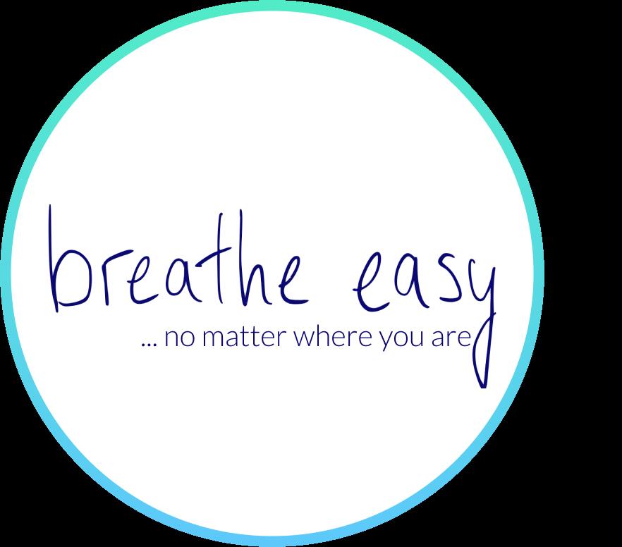breathe easy no matter where you are