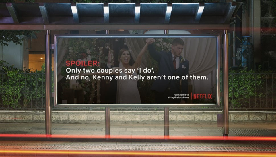 Billboards spoiling Netflix series to make you stay at home go viral | Dazed