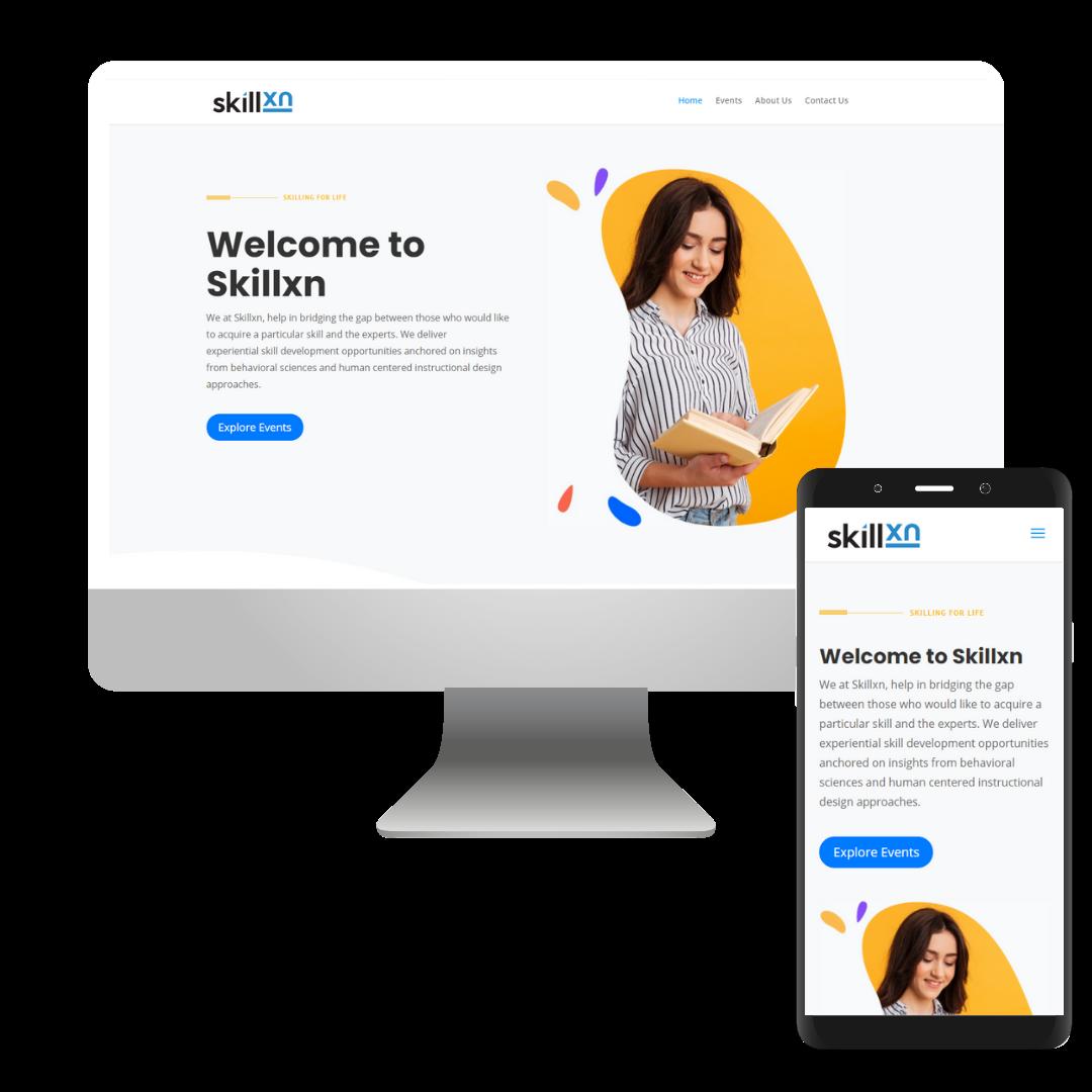 mobile responsive website image