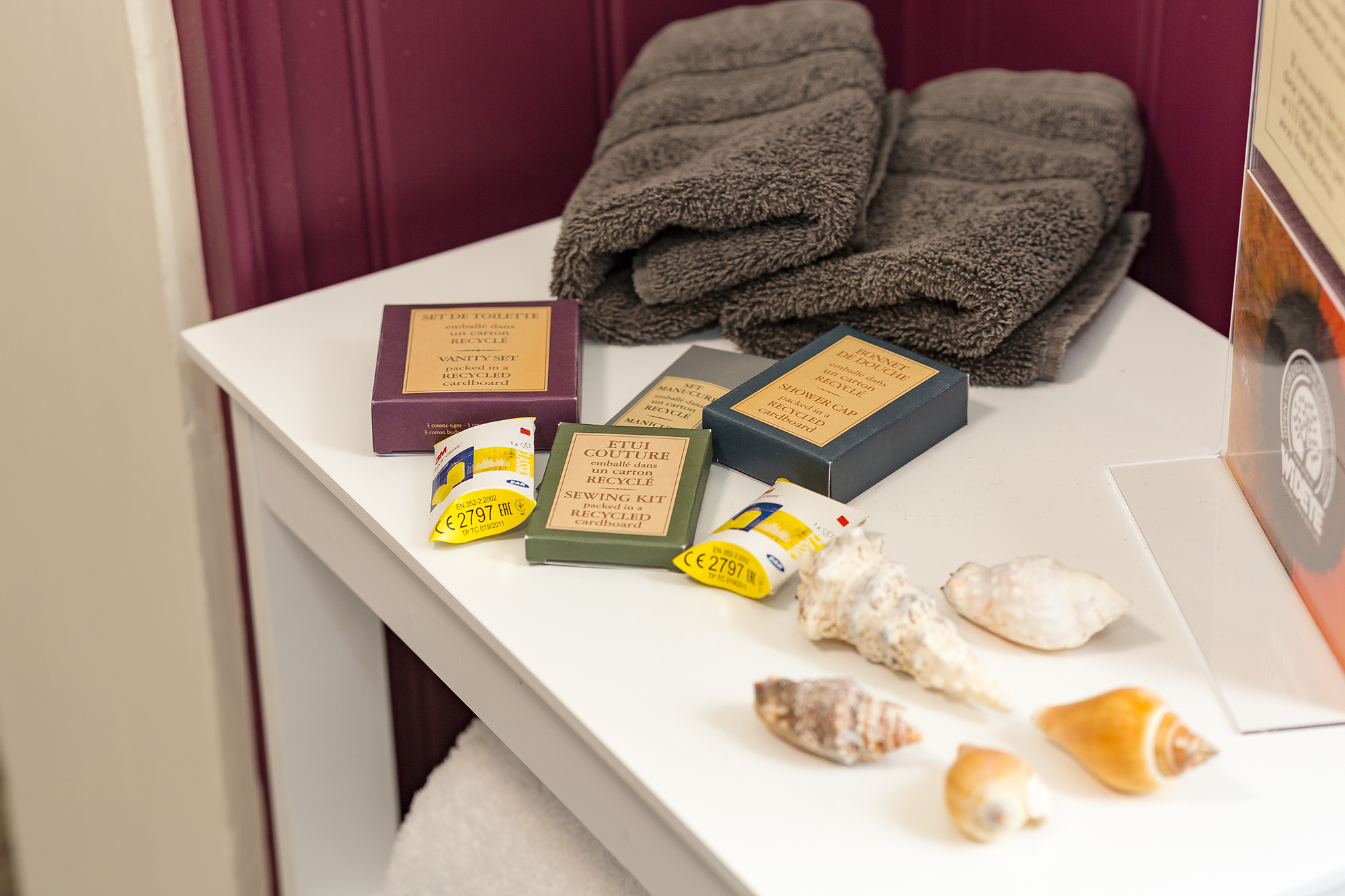 Products and towels