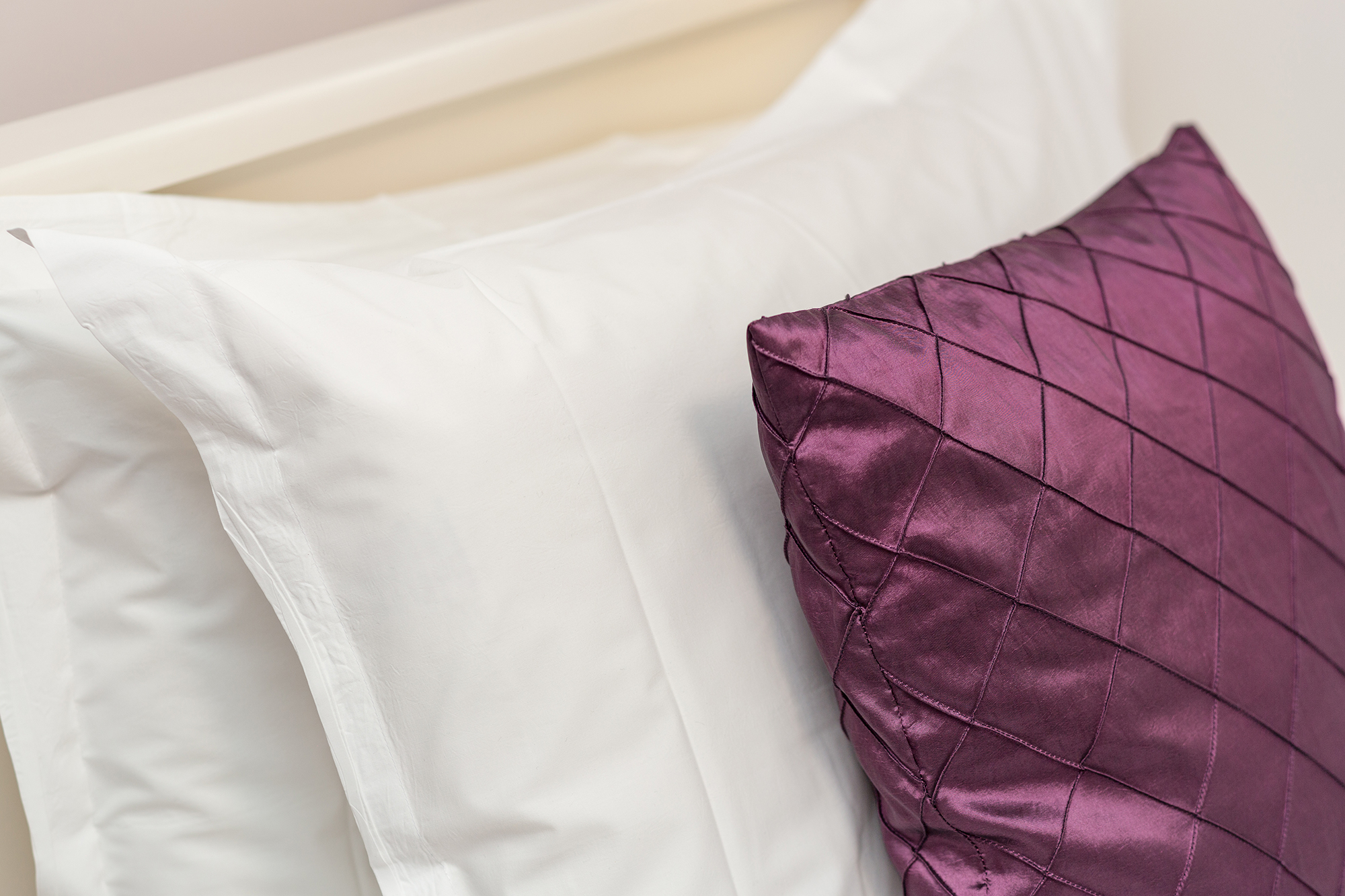 Close up of bedding