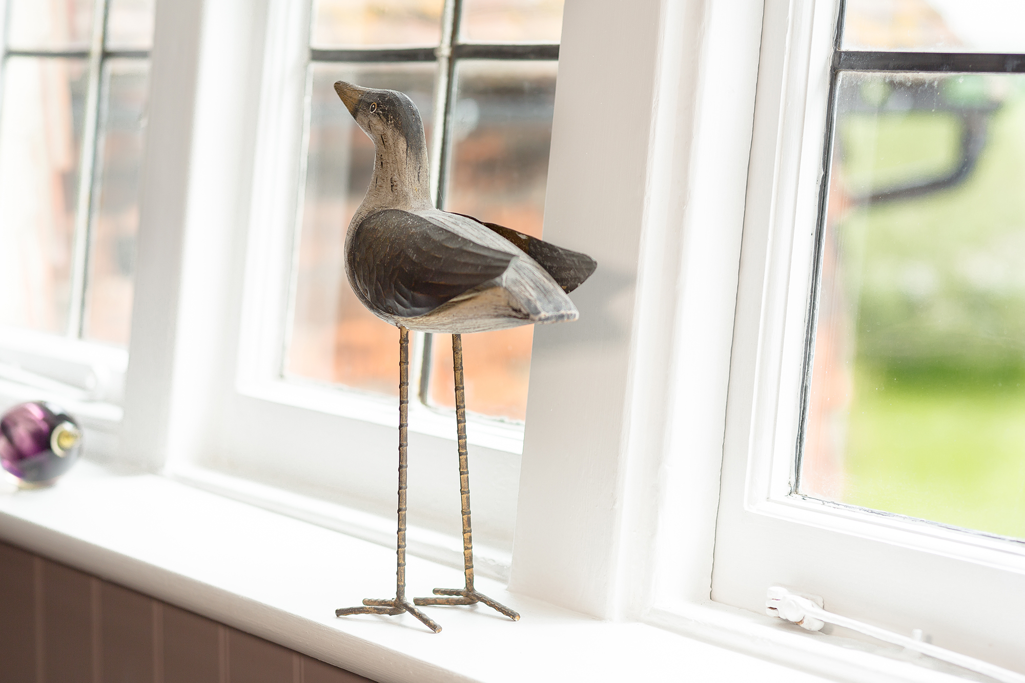 Wooden seagull