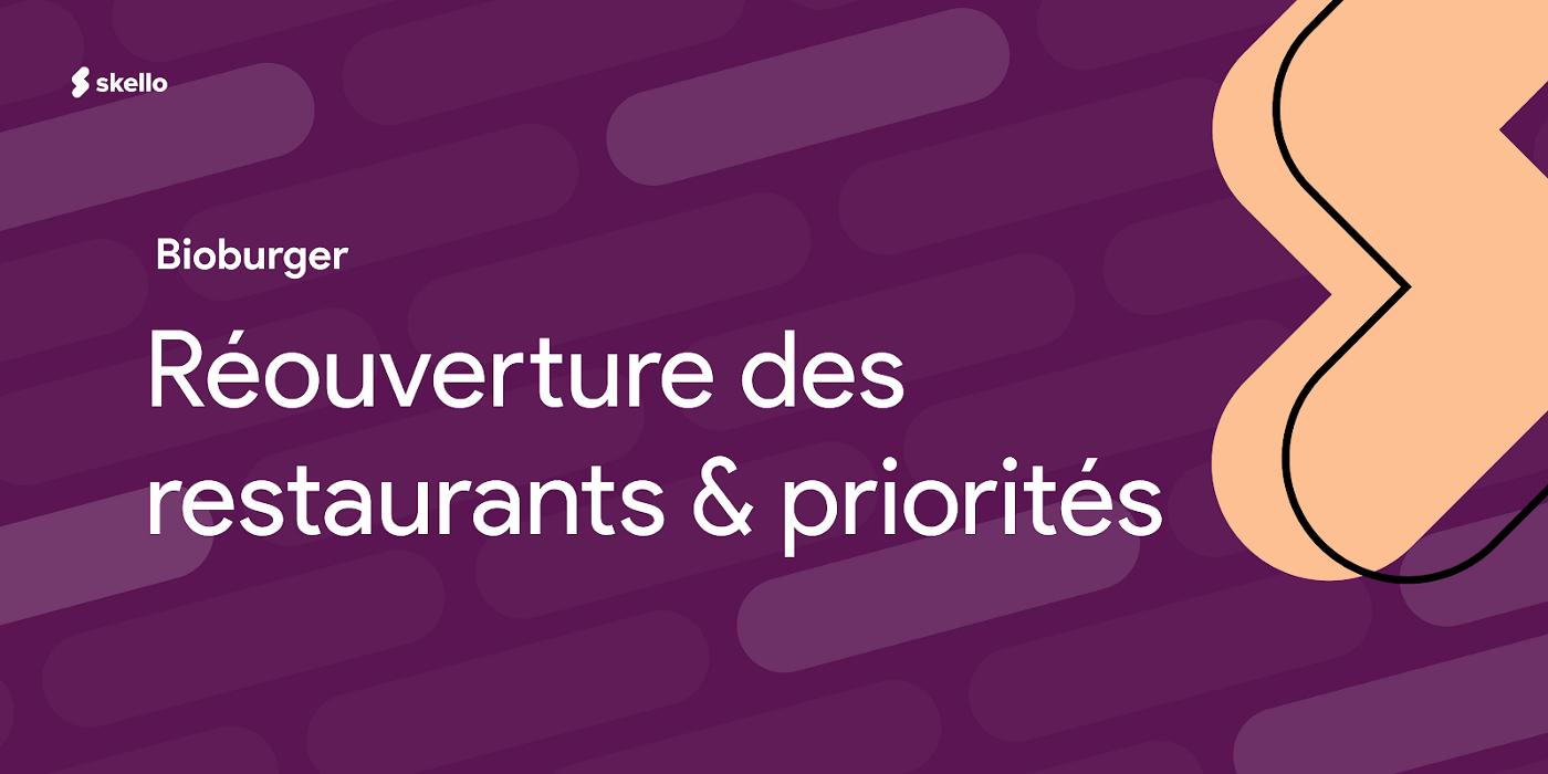 Réouverture des restaurants et priorités: Bioburger raconte