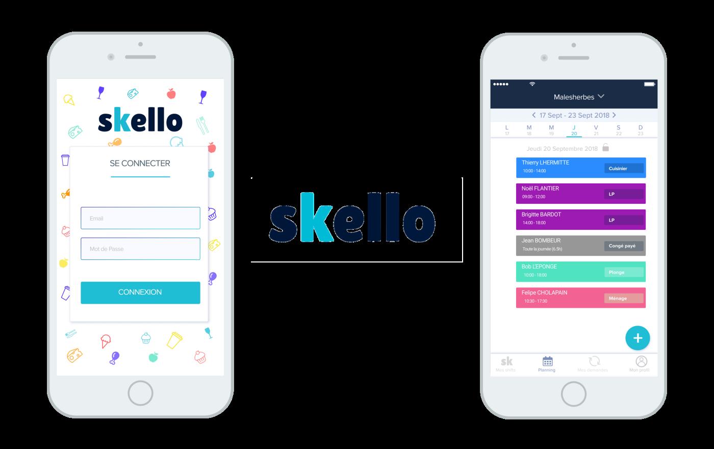 Les coulisses de la nouvelle application Skello