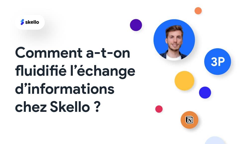 Comment a-t-on fluidifié l'échange d'informations chez Skello ?