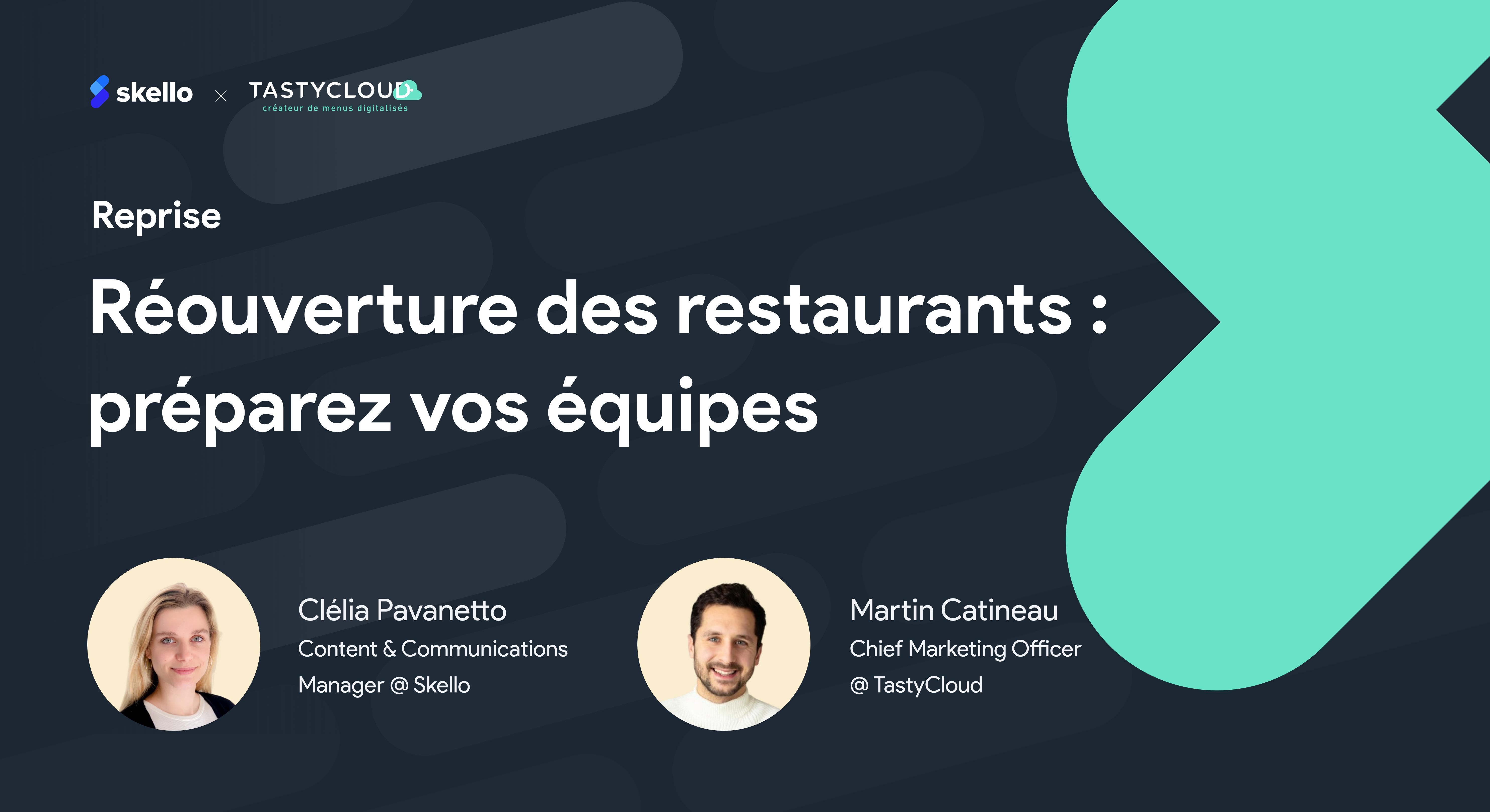 Réouverture des restaurants : préparez vos équipes à un nouveau parcours client