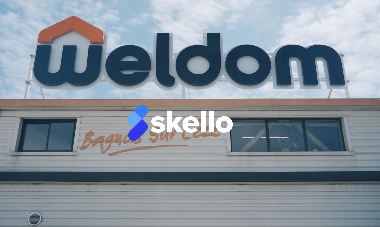 Avec Skello, les chefs de secteur du magasin Weldom gèrent les équipes de manière plus opérationnelle.
