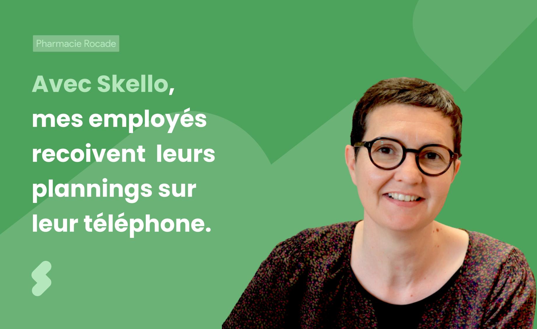 La Pharmacie de la Rocade Villenave gère les emplois du temps de ses 18 employés sur Skello.