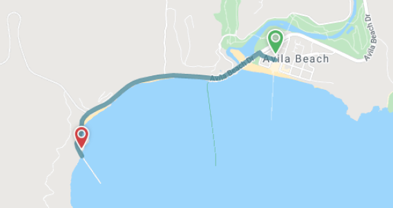 port-san-luis-map