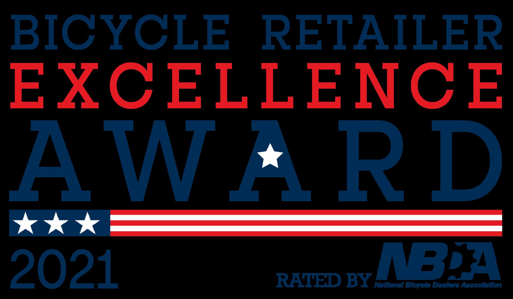 2021 Bicycle Retailer Excellence Award