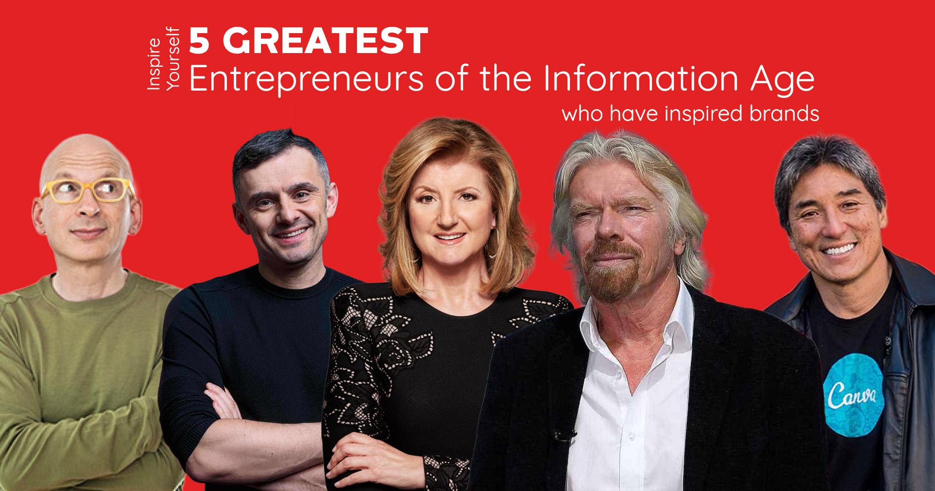 5 Greatest Entrepreneurs Who Have Inspired Brands