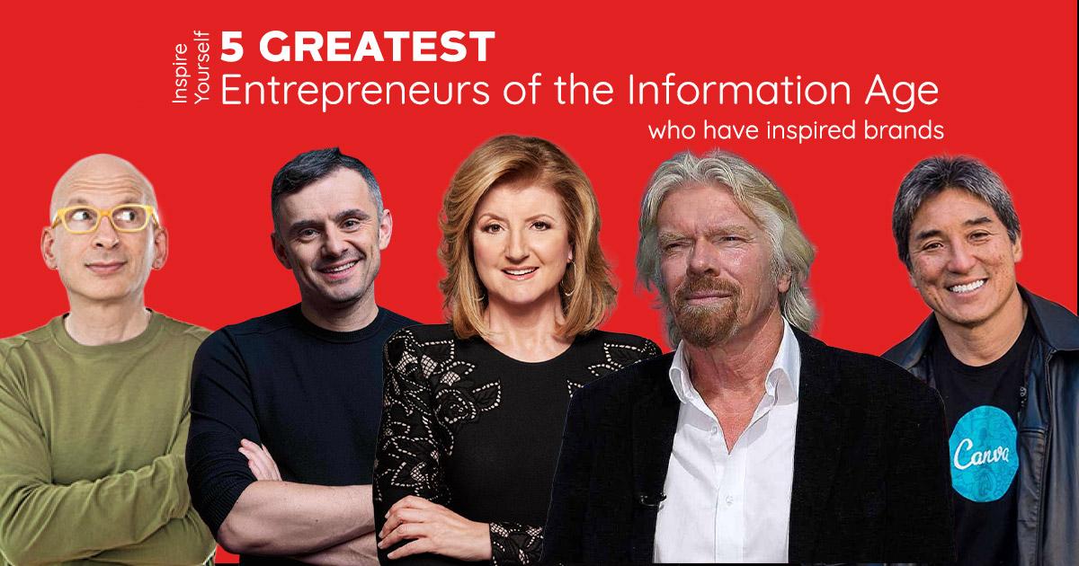5 Entrepreneurs Who Have Inspired Brands
