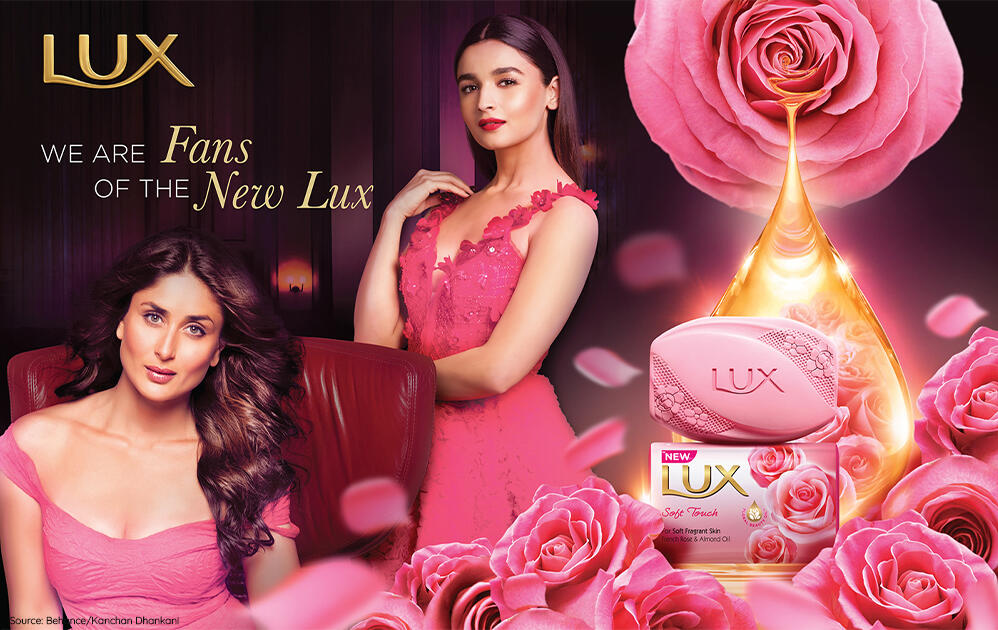 Indian household brand - Lux marketing