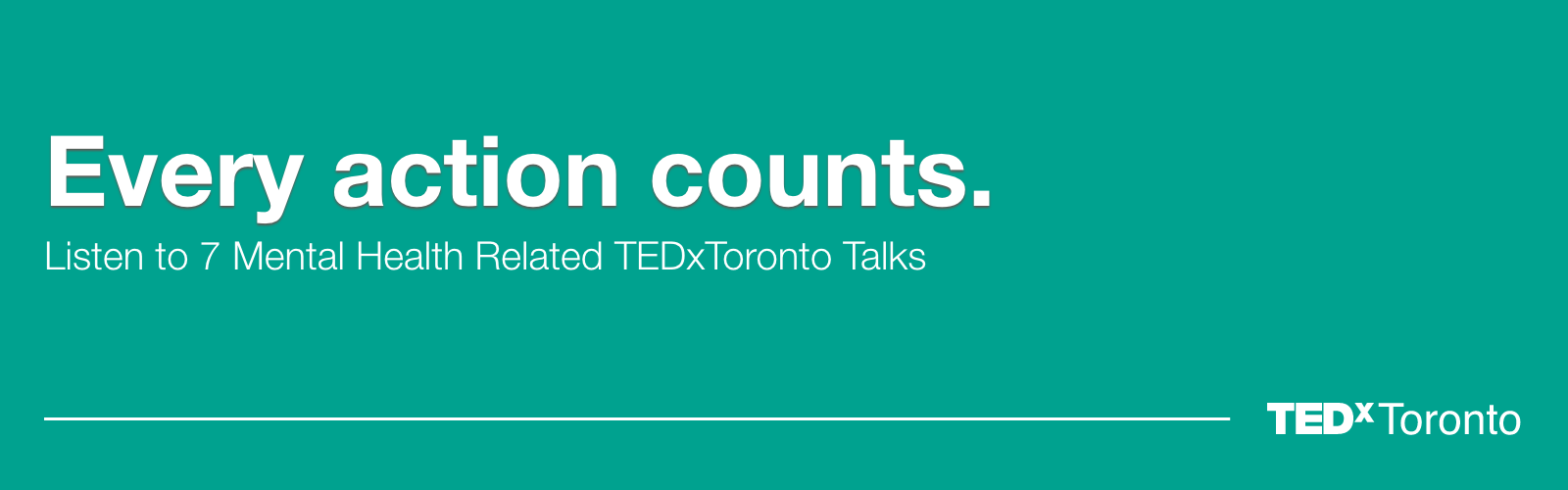 Seven Mental Health-Related TEDxToronto Talks in Honour of Bell Let's Talk Day