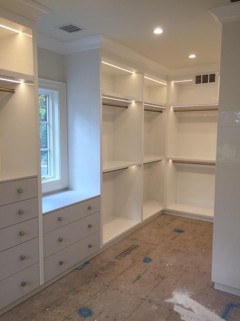 Project 5 — walk-in closet