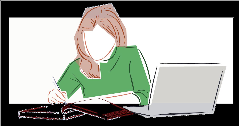 Editor working