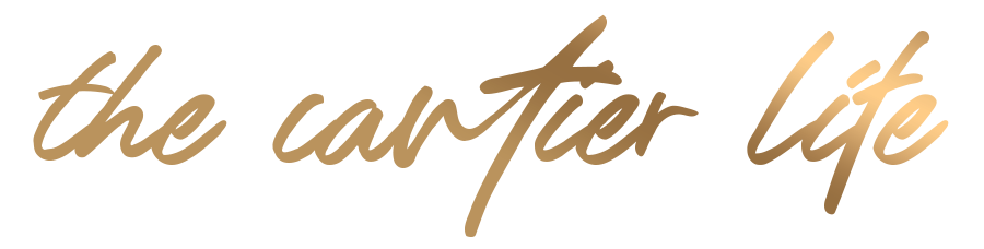 The Cartier Life Gold Logo