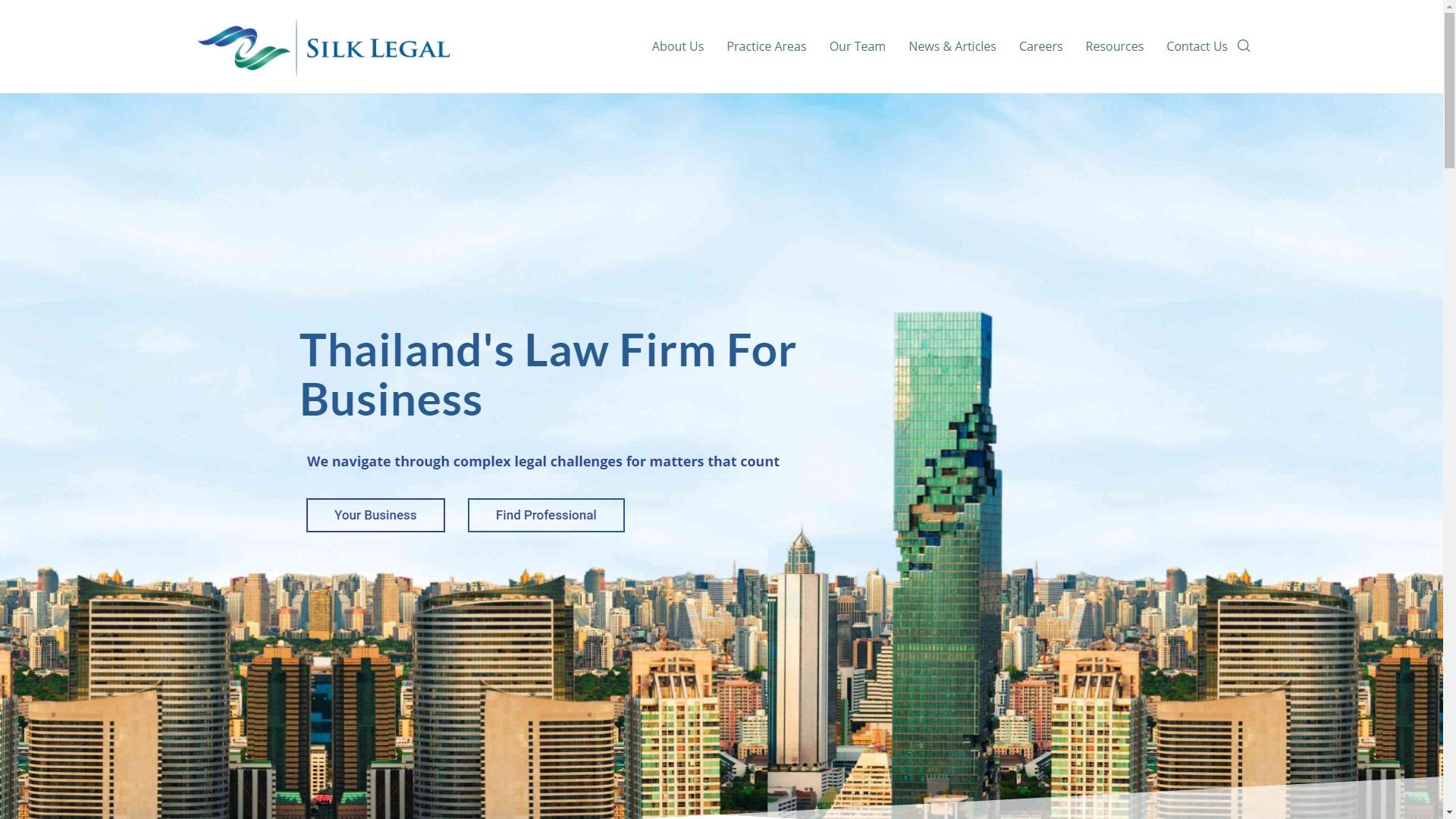 Silk legal portfolio image