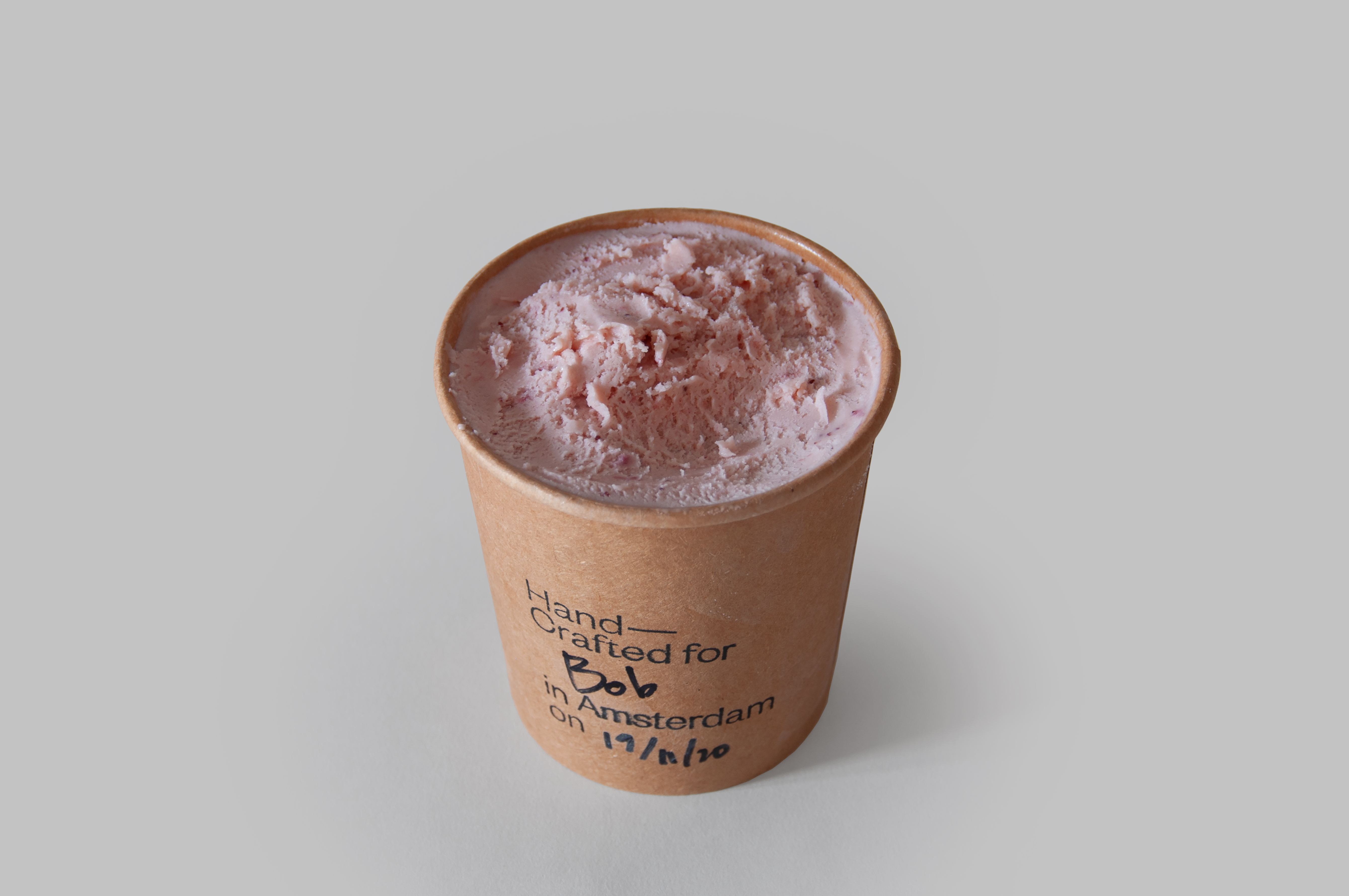 Strawberry w/ Coconut Cream Zuivel Vrij