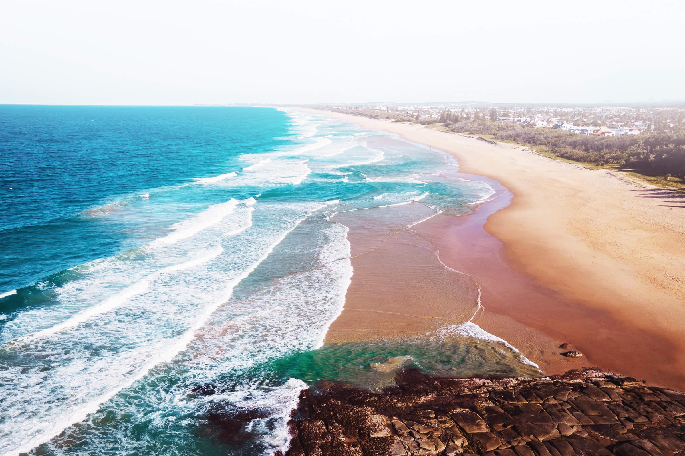 Landscape photo of Sunshine Coast beaches